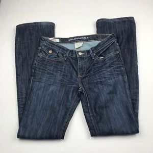 Banana Republic Serengeti Modern Boot Cut Jeans 4